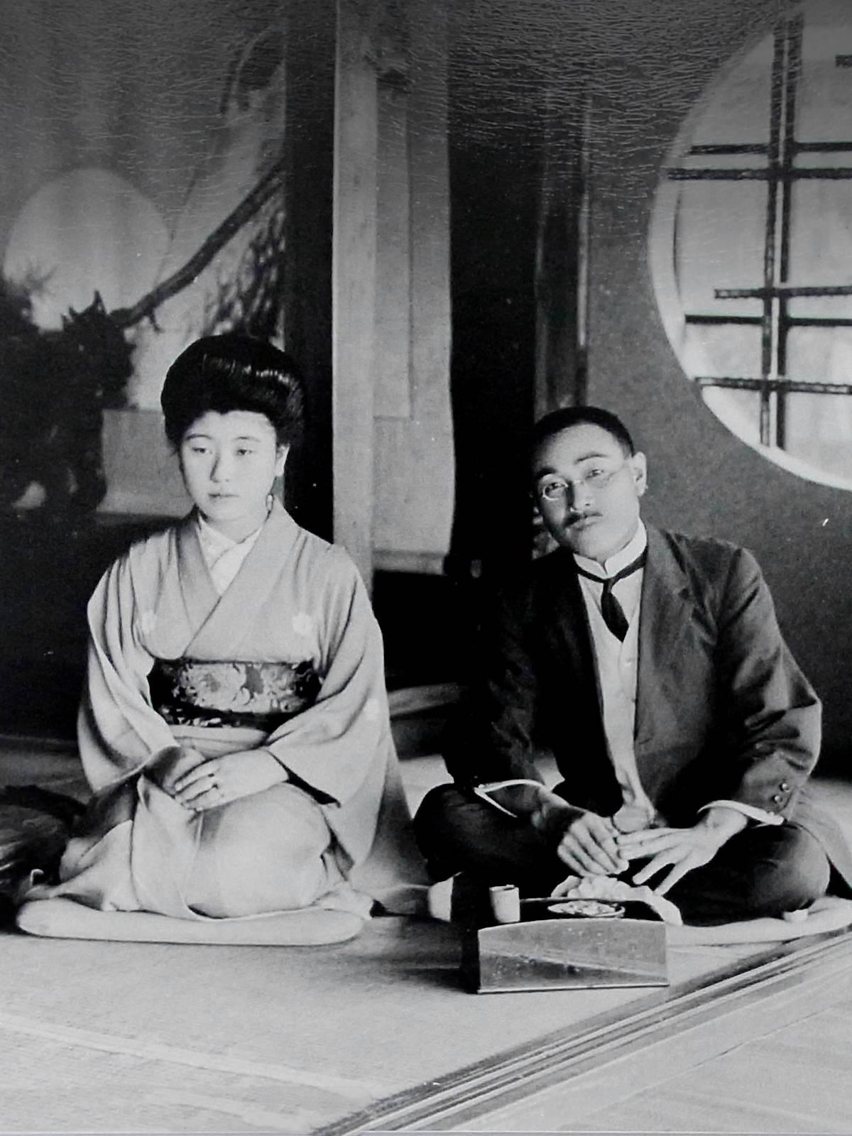 二代目夫婦(きぬ、民蔵)